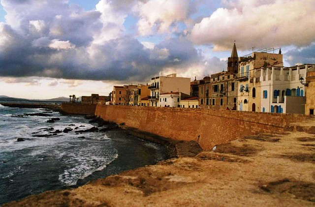 View of Alghero in Italy by Flickr CC FRANCESCO GIANNELLA