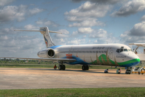Boeing 717 at Siem Reap