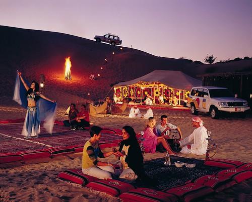 Dubai Desert Safari Campsite