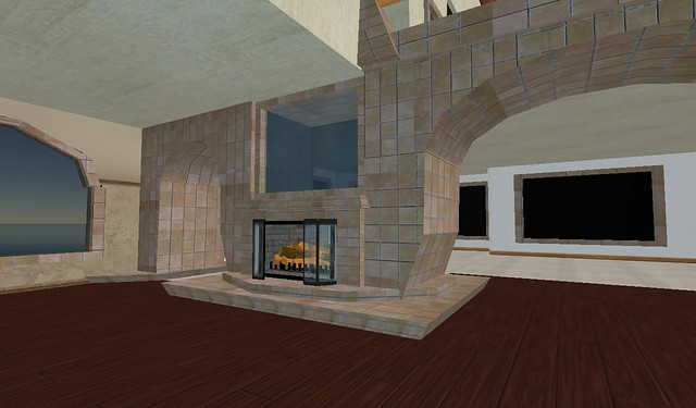 The fireplace and fish tank flickr photo sharing for Fish tank fireplace