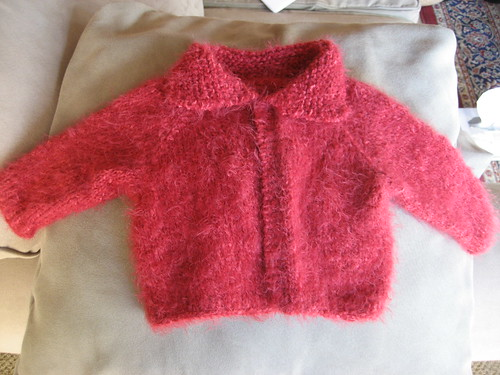 Free Knitting Patterns Easy Baby Sweater Free Pattern This Hour