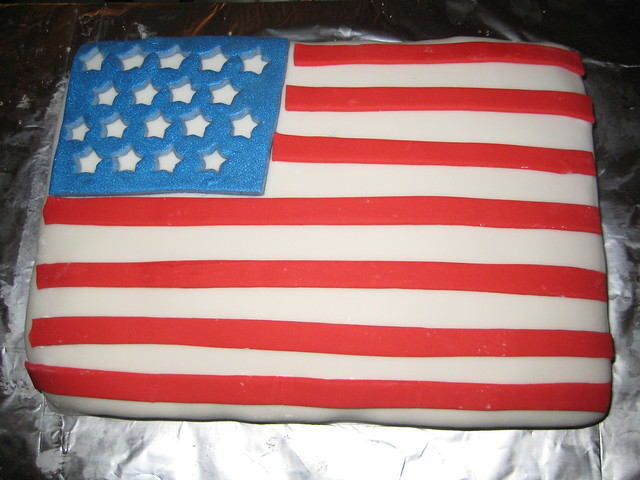American Flag Cake | Flickr - Photo Sharing!