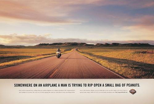 Harley Davidson Print Ad