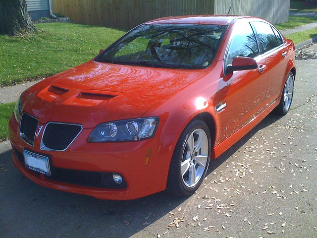 2007 Pontiac G8 Gt Related Infomation Specifications