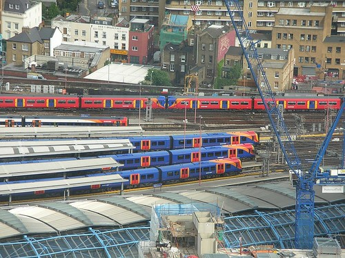 South West trains at Waterloo 2008_0704