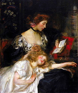 Mother and Child (Lady Shannon and Kitty)