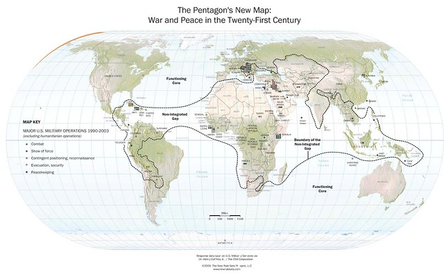 review of the pentagon s new map Book review closing the globalization 'gap' the pentagon's new map: war and peace in the twenty-first century by thomas p m barnett reviewed by yoel sano.