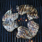 Six Breasts A-Grilling