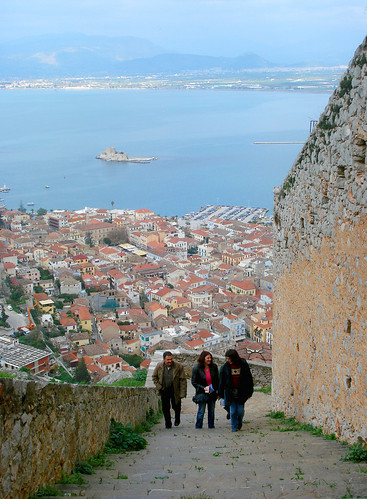 friends castle stairs view fortress nafplion palamidi burtzi mywinners goldstaraward