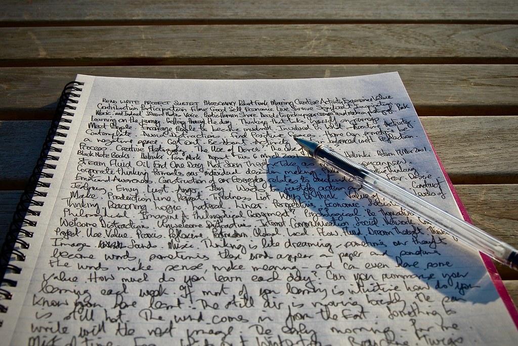 Writing, Wednesday 13 February 2008 . 3575