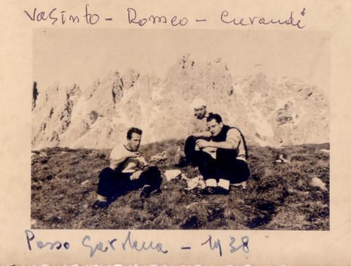 Vasinto - Romeo - Curandi - Passo Gardena 1938