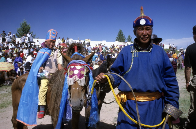 NADAAM IN MONGOLIA