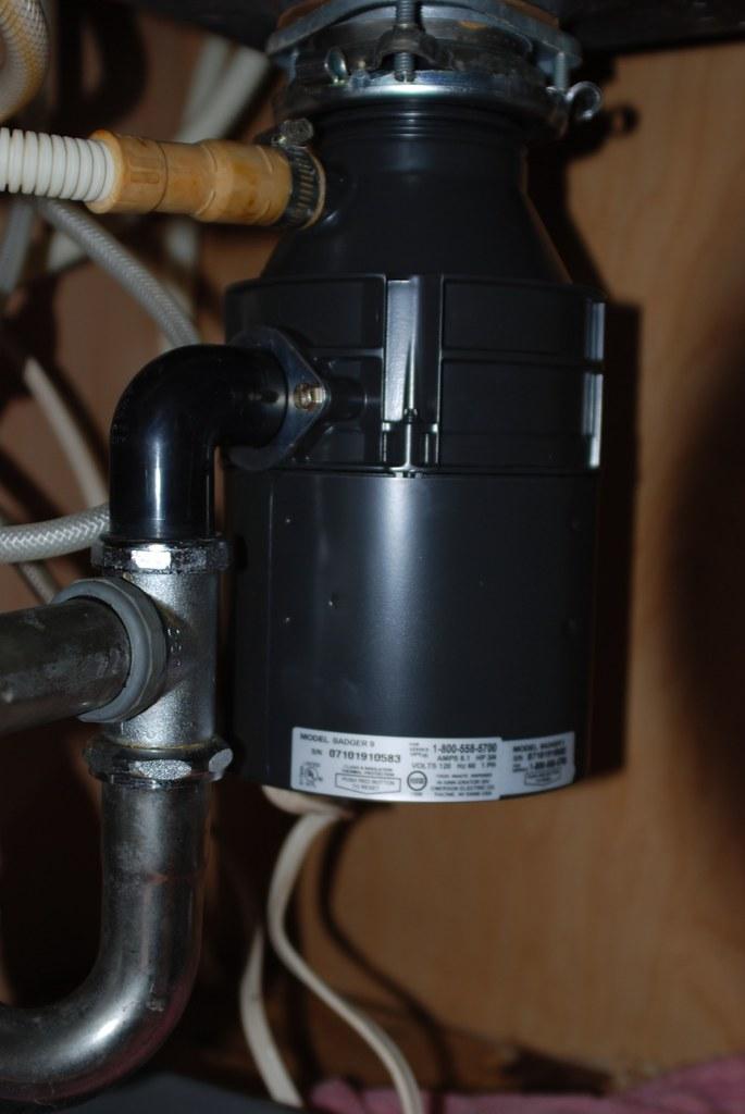 Replacing the Leaking Garbage Disposal