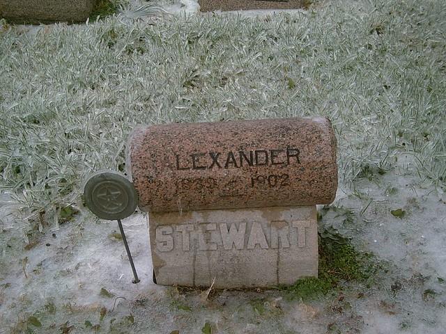 Header of Alexander Stewart