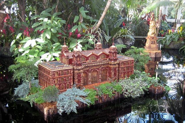 Nyc Bronx New York Botanical Garden 2007 Holiday