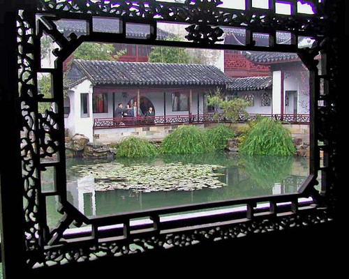 """Master of the Nets"" Garden, Suzhou  2002"