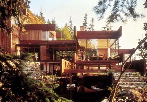 Arthur erickson architect the mid century modernist for Pnw homes
