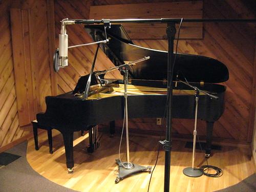 Grand Piano - Creative Caffeine Nashville Recording Studio