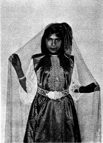 Fille Farhi, Ah Frah, 1913, by Melville William Hilton-Simpson
