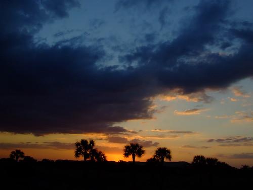 sunset sky clouds florida finepix s5200 fujifilm