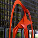 "Small photo of Chicago - Alexander Calder ""Flamingo"""