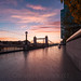 Sunrise over Tower Bridge on an Autumn Morning by Christine's Phillips (Christine's observations)