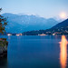 Italy - Lake Como: Moonrise