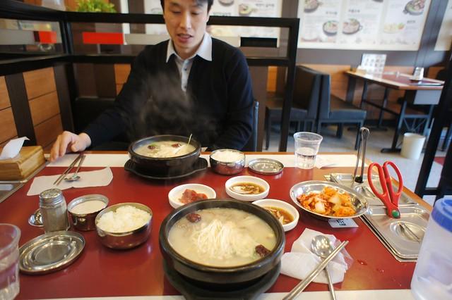 Hearty Korean Breakfast