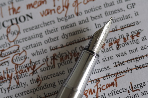 My college paper editing and proofreading online tutoring