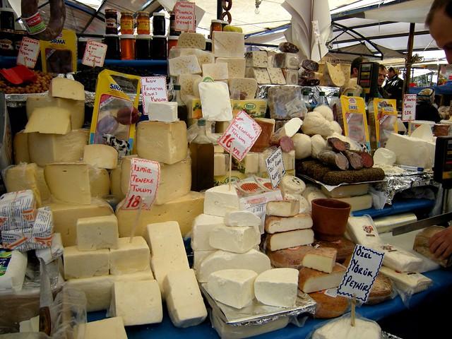 local bazaar istanbul cheese