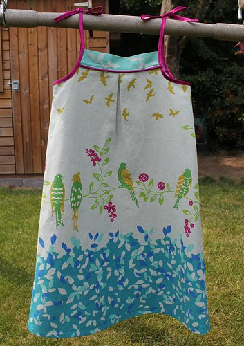 Popover sundress voor Floor
