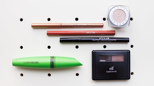 Products used for Stila Tri-Lined Eyes Tutorial