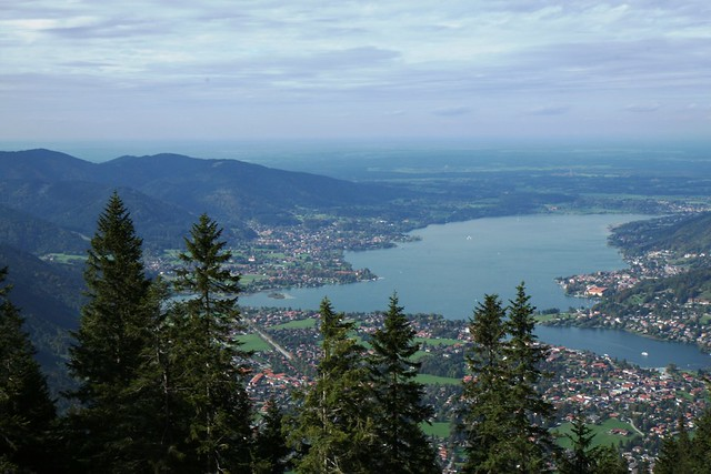 A View at Tegernsee from Wallberg