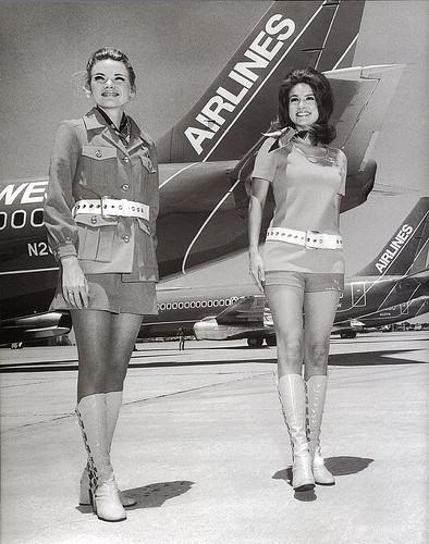 Vintage Flight Attendant Uniform 73
