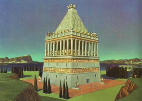 Mausoleum of Maussollos at Halicarnassus