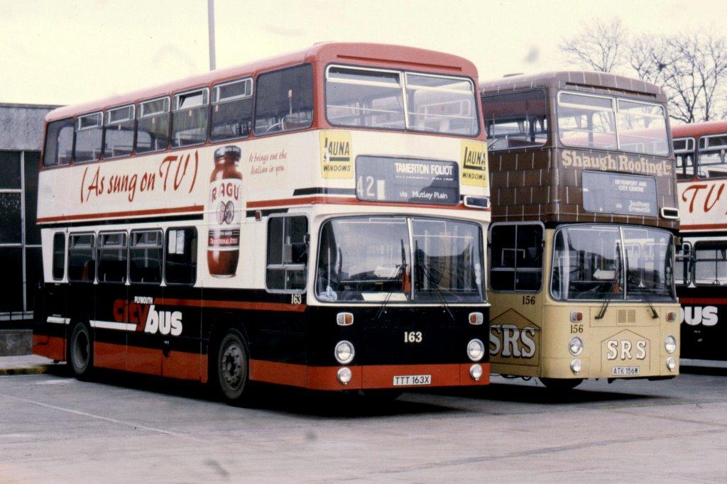 Plymouth 156 (ATK 156W) & 163 (TTT 163X)