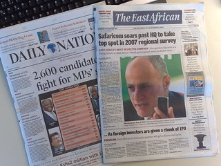 Daily Nation & The East African