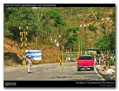 Guatemala - Honduras border (near Copán)