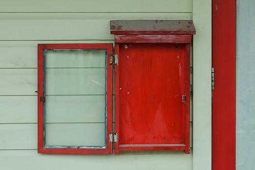 red color seaside florida walton highway30a