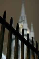 railing against the church