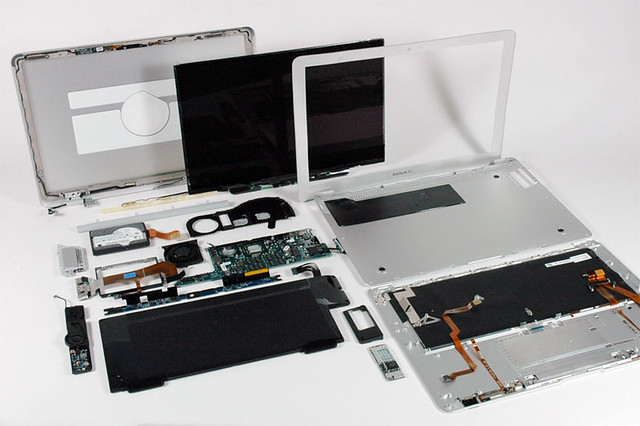MacBook Air 大分解 - 無料写真検索fotoq