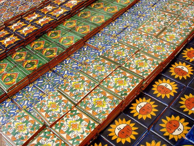 Azulejos en dolores hidalgo guanajuato m xico 2008 01972 for Azulejos mexico