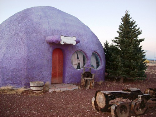 Giant Purple General Store at Bedrock City, Arizona (bedrock44xy)