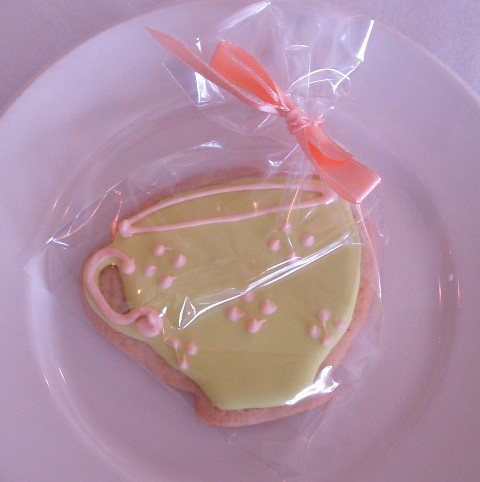Teacup cookie
