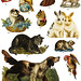 Victorian Scrap Animals Two