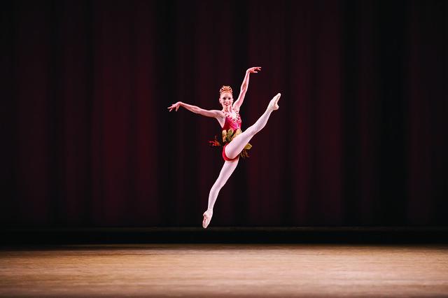 Sarah Lamb in Rubies as part of Jewels © ROH 2007