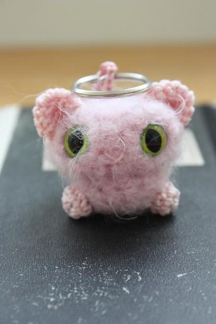 Amigurumi Kitty Ring Holder : tiny amigurumi cat key-ring Flickr - Photo Sharing!