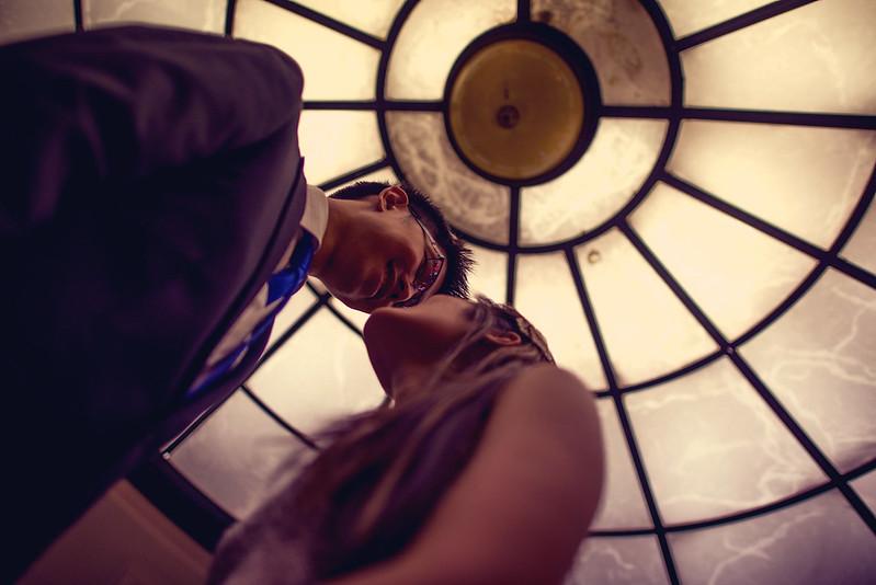 engagement shoot qvb sydney