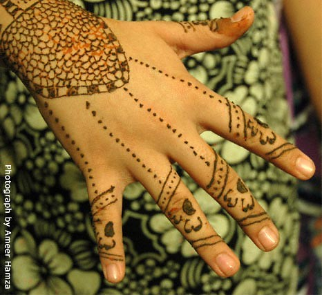 Mehndi: Hand design patterns height=427