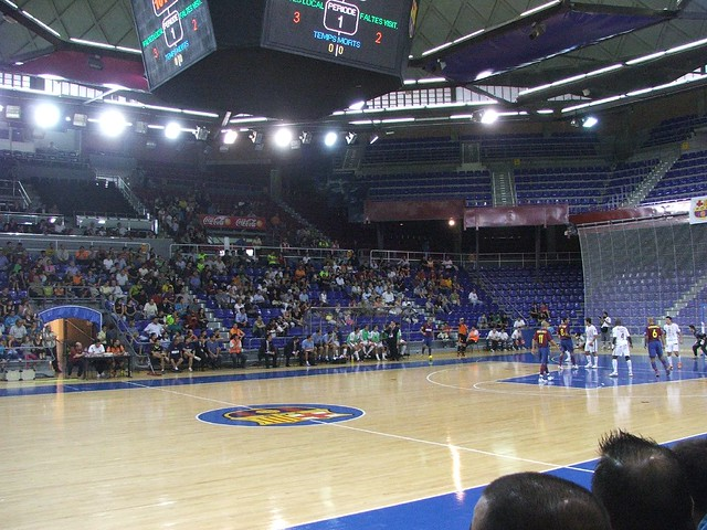 Palau blaugrana home of f c barcelona 39 s basketball for Puerta 0 palau blaugrana